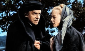 Paul Scofield and Susannah York in A Man for All Seasons.