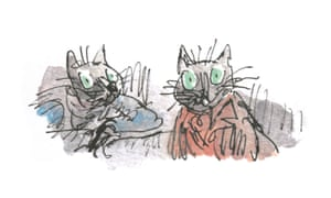 Quentin Blake's Kitty-in-Boots