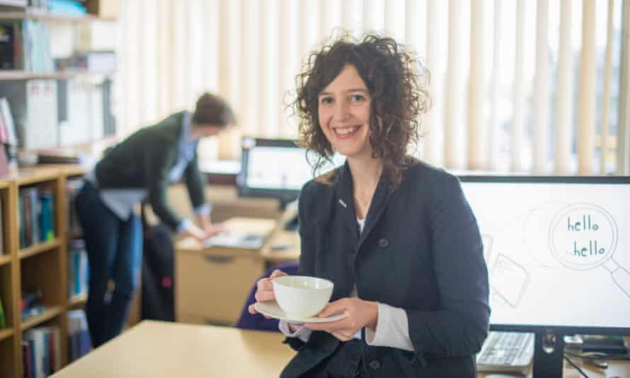 Elizabeth Stokoe at Loughborough University.