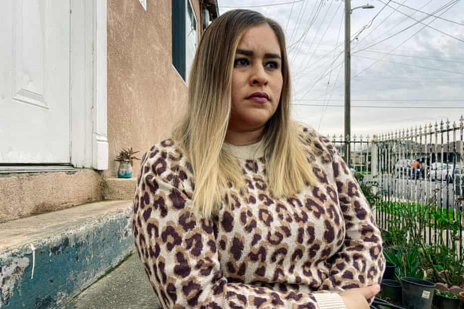 Yaquelin Valencia in California. When she had Covid in July, her biggest worry was how to continue supporting her undocumented family members.