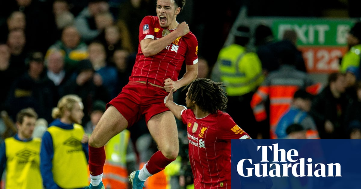 Liverpool's Curtis Jones says winner over Everton was beyond a dream