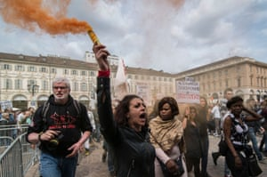 Turin, ItalyWorkers demonstrate to express their worries about unemployment