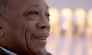 Quincy Jones in Quincy.