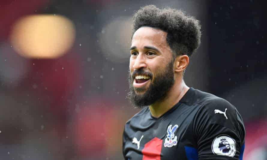 Andros Townsend in action for Crystal Palace in May.