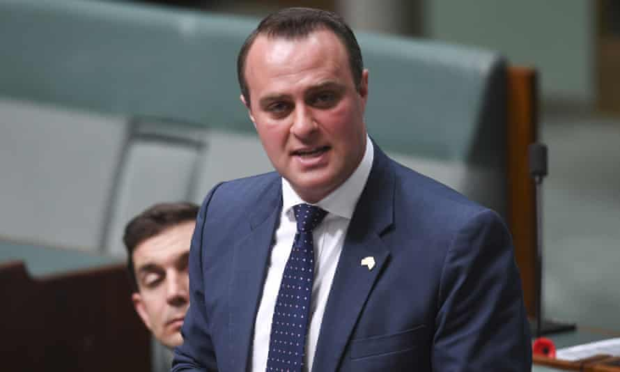 The economics committee chair Tim Wilson has been accused of authorising a partisan campaign against Labor's franking credits policy