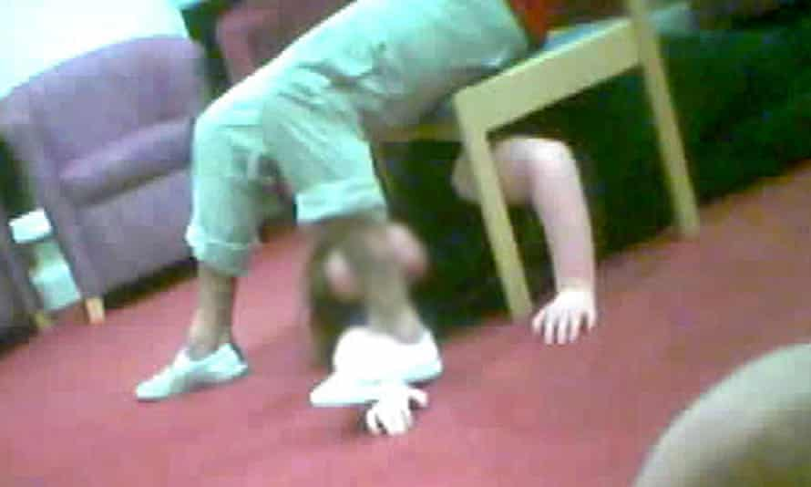 An incident between a resident and a care worker caught on camera during the Panorama investigation into Winterbourne View.