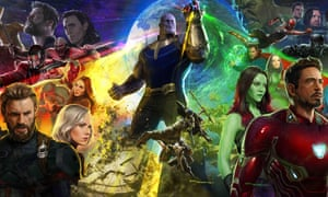 TITLE: Avengers: Infinity War STUDIO: Marvel Studios DIRECTOR: Anthony Russo, Joe Russo PLOT: The Avengers and their allies must be willing to sacrifice all in an attempt to defeat the powerful Thanos before his blitz of devastation and ruin puts an end to the universe. STARRING: Poster Art. Conceptual Artwork. Artist: Ryan Meinderding (Credit Image: © Marvel Studios/Entertainment Pictures)