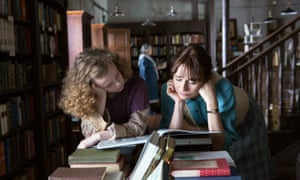 Honor Kneafsey and Emily Mortimer in the 2017 film of The Bookshop.