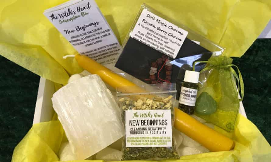 A subscription box from The Witches Heart.