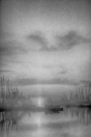 The Docks at Daybreak 1964