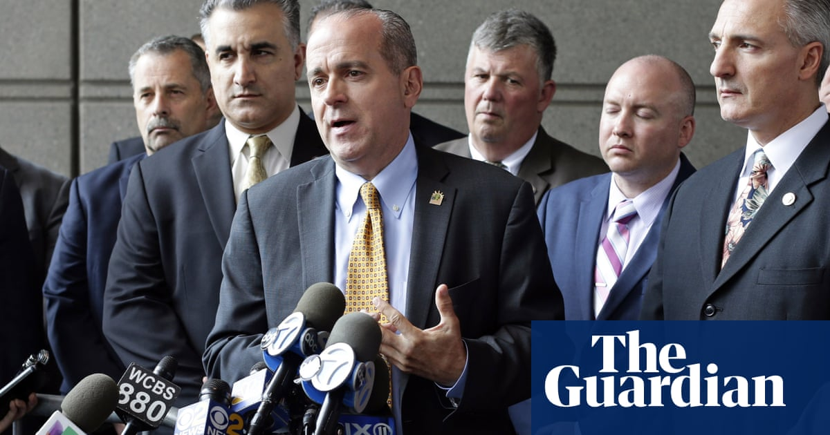FBI raids New York police union whose head clashed with Mayor De Blasio