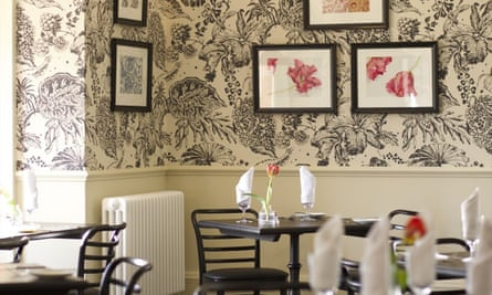 Dining room. the Manor at Sway