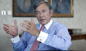 Eric Daniels, former CEO of Lloyds Banking Group, in 2010