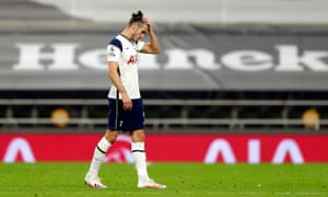 Gareth Bale looks dejected after the final whistle