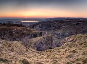 Periglacial forces, Cheddar Gorge, England, by Tim Gregory.