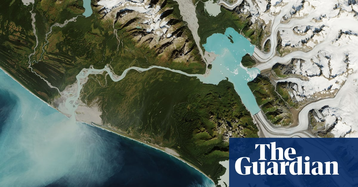 Receding glaciers causing rivers to suddenly disappear