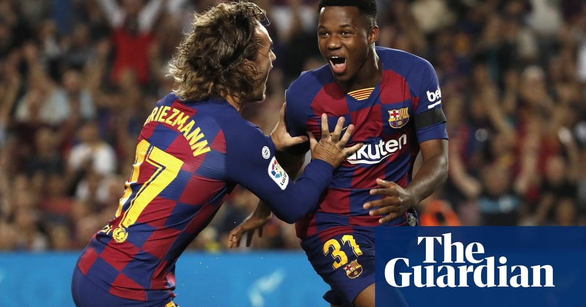 European roundup: Sixteen-year-old Ansu Fati stars in Barcelona win