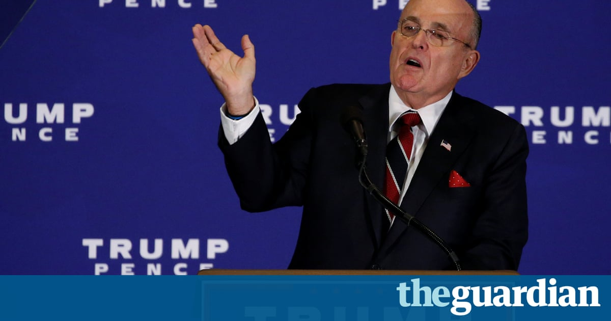 Rudy Giuliani is an Absurd Choice to Defend the US from Hackers