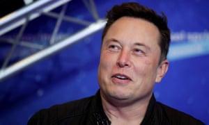 SpaceX owner and Tesla CEO Elon Musk in Berlin, Germany, December 1, 2020.