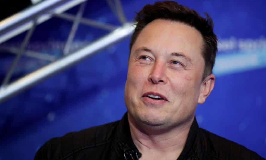 Elon Musk, owner of SpaceX and CEO of Tesla