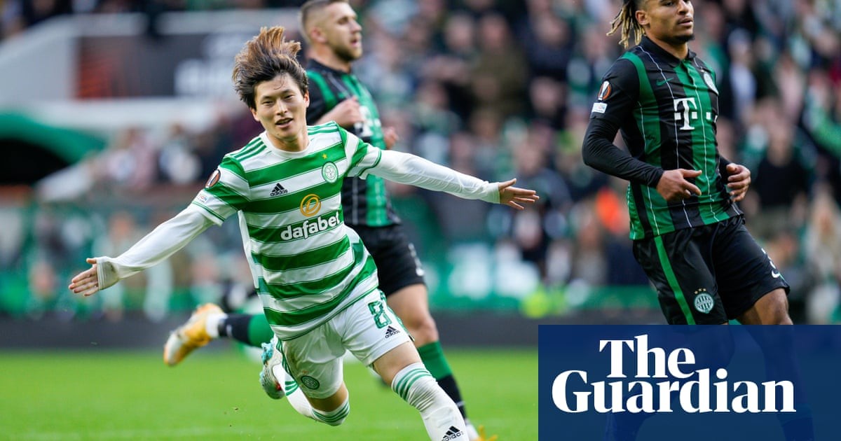 Kyogo Furuhashi fires Celtic to vital Europa League win over Ferencvaros