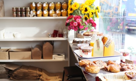 Honey and Co on Warren Street, a cafe-restaurant featured in our top 10 budget restaurants and cafes in central London.