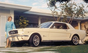 """With its long hood and short deck, the Mustang offered good looks at a good value. It also had a long list of options that allowed buyers to create anything from a six-cylinder economy ride to a high-performance sports car. Original price: $2,308."""