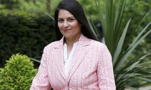 Priti Patel, the new minister for employment.