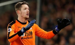 Crystal Palace's Wayne Hennessey was accused by the Football Association of having a 'lamentable degree of ignorance' about Adolf Hitler and the Nazis after being charged with making an offensive gesture