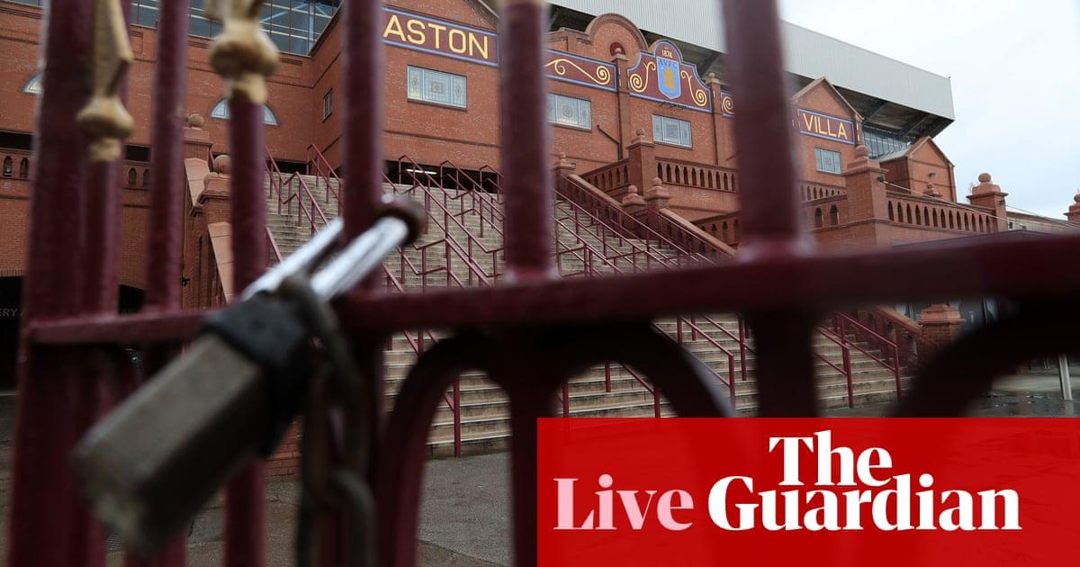 La Premier League y el fútbol británico se cierran hasta abril debido al coronavirus - en vivo | Fútbol americano 1