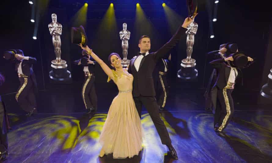 Strictly Come Dancing's Janette Manrara and Aljaž Škorjanec.