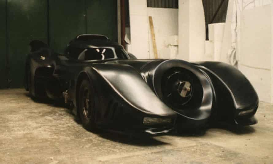 The shell of the Batmobile for Tim Burton's Batman (1989) was fashioned from polystyrene by Keith Short, then cast into fibreglass