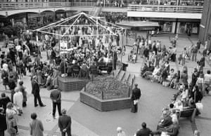 The Wilmslow Band at The Merseyway Shopping Centre