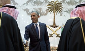 Obama is also trying to smooth relations with those who now resent longtime ally for 'tilting' towards rival Iran and pressing hard for domestic reforms.