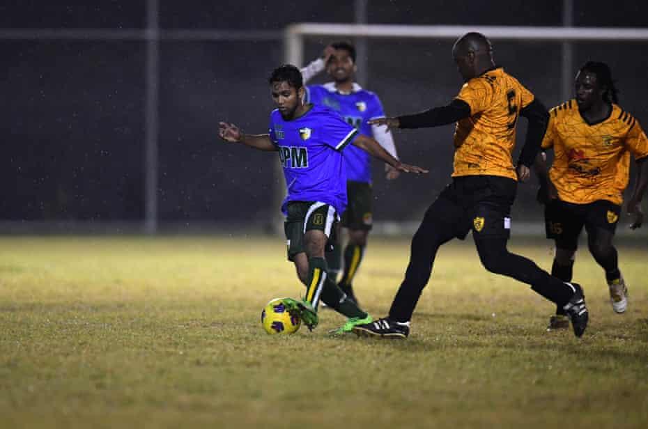 Osman Osman in action.