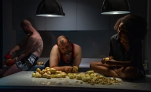 Untitled: 'This carefully arranged tableau is a work that stayed most in my mind when I went back and forth through the excellent contributions to the competition. The photographer has creatively used what looks like available light in an empty kitchen, and the image also reflects effectively the claustrophobic side of the lockdown.' Paul Hill