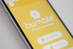 The Bumble app