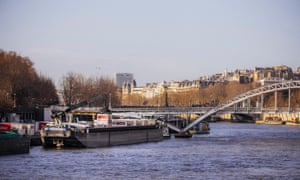 According to Stéphane Tuot, 'There's room to deliver all of our 350 Parisian stores via the Seine.'