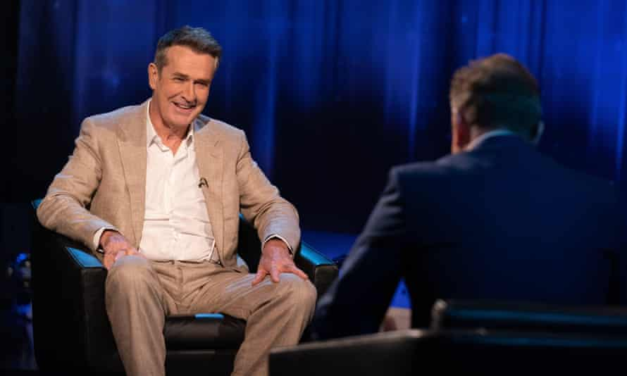 Rupert Everett faces the questions in Piers Morgan's Life