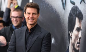 Tom Cruise earlier this year.