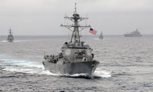 US navy ships were steered to Pacific ports where they could be over-charged by 'Fat Leonard', according to prosecutors.