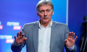 Dmitry Peskov, Vladimir Putin's spokesman: 'If he groped you, if he harassed you, why did you remain silent? Why didn't you go to the police?'