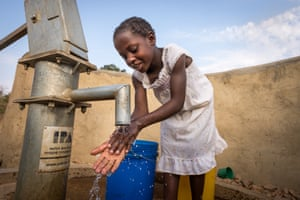 In southern Zambia, World Vision sponsored child Dorcas and her community now have access to clean water.