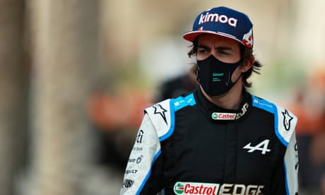 Fernando Alonso to make F1 comeback with titanium plates in his jaw