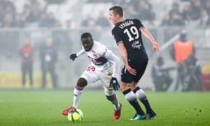 Lyon's Tanguy Ndombele has progressed so rapidly since signing on loan from Amiens there are calls for him to start ahead of Paul Pogba for France at the World Cup .