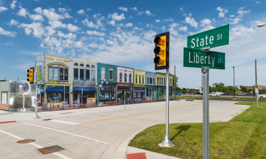 Mcity, a contender to become a proving ground for self-driving cars.