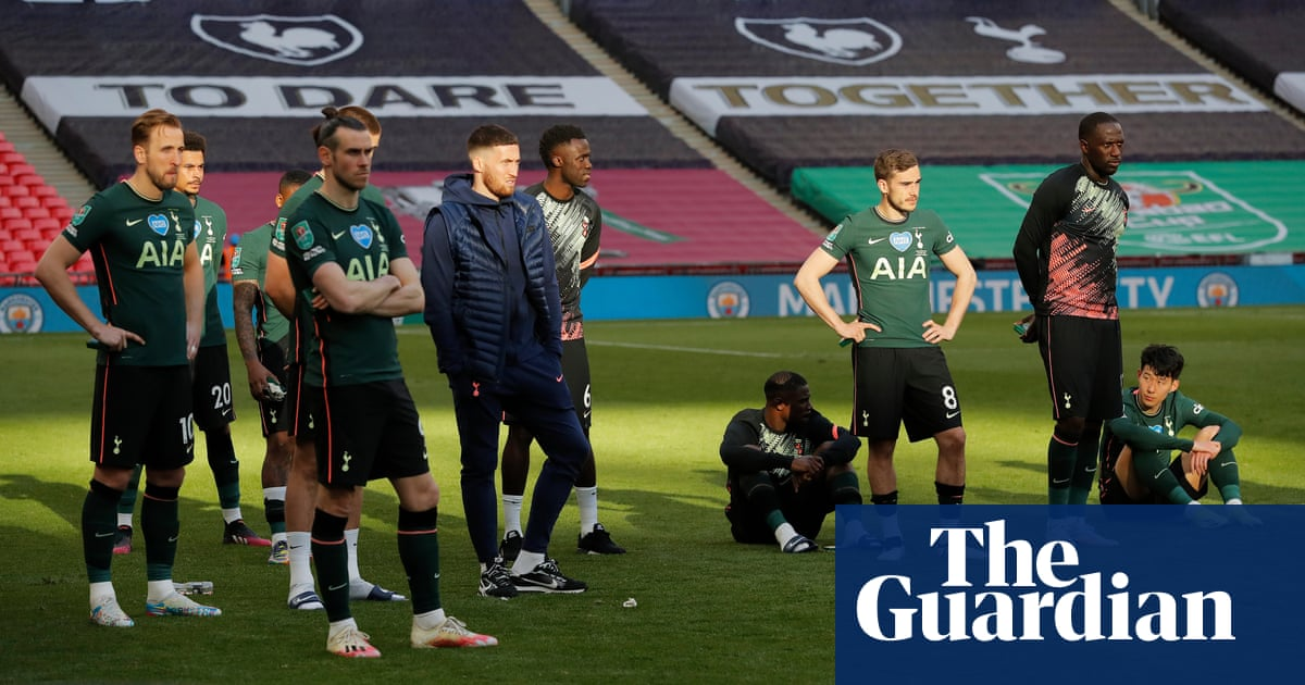 Spurs are sliding at speed and route back up is packed with obstacles | Jonathan Wilson