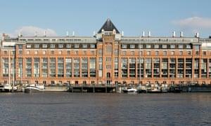 Amsterdam's De Stenen Silo building.