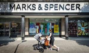 A Marks & Spencer store in London