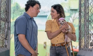 Aggressively life-affirming ... Jon Bass and Vanessa Hudgens in Dog Days.